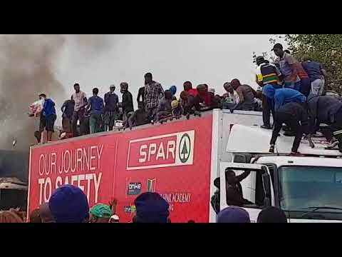Image result for burning trucks south africa south africa