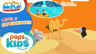 We Learn We Play Level 3 - Experiences - Học Tiếng Anh Cùng POPS Kids