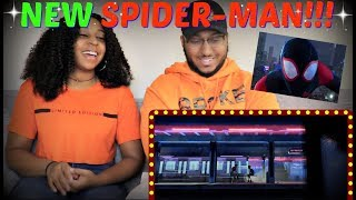 """SPIDER-MAN: INTO THE SPIDER-VERSE"" - Official Trailer REACTION!!!"