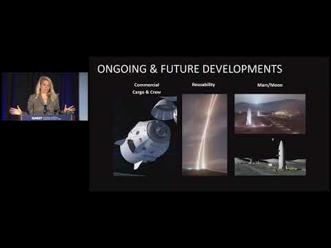 Gwynne Shotwell, Frontier of Commercial Space Flight, January 11, 2018