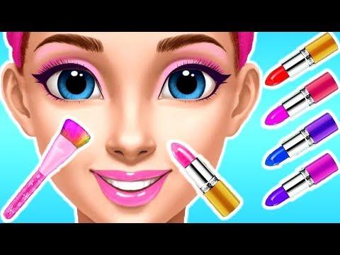 New! Princess Gloria Makeup Salon - Princess Color Makeup Dress Up Makeover Games For Girls