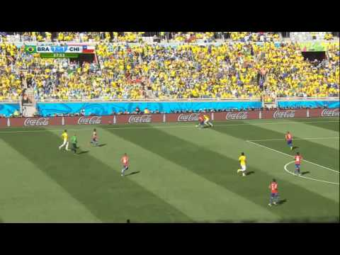 FIFA World Cup 2014, Brazil. Round of 16. June 28 - BRAZIL vs CHILE