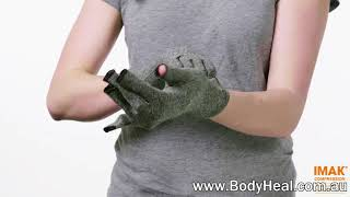IMAK Compression Arthritis Gloves A2017 - For Arthritis Pain Relief