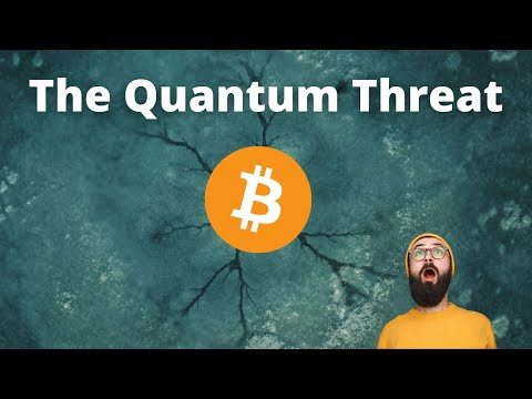 Will Quantum Computers BREAK Bitcoin Someday? (Explained For Beginners)