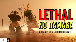 All Straw Hat Duels (Lethal Difficulty - No Damage) Six Blades of Kojiro   Ghost of Tsushima