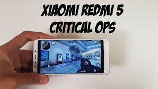 Xiaomi Redmi 5 Critical Ops Gameplay/Snapdragon 450 gaming test/ Adreno 506/Ultra high