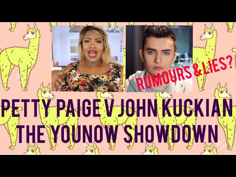 JOHN KUCKIAN Talks Cosmetic Launch Rumours & Lies With PETTY PAIGE #SpitHappens