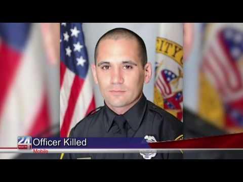 Mobile Police Officer Killed