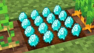 Minecraft, But you can grow Diamonds...