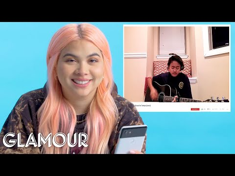 Hayley Kiyoko Watches Fan Covers on YouTube | Glamour