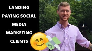 SOCIAL MEDIA MARKETING: Landing Your FIRST Client [Student Success Story]