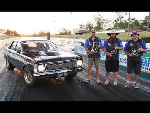 EPIC! Genuine Aussie street cars battle at Drag Challenge Weekend final
