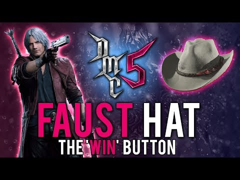 Devil May Cry 5 - Faust Hat Tutorial - The Game Breaker thumbnail