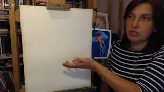 Живопись и рисование  уроки творчества День 15  Елена Беликова