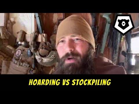 Prepper Hoarding vs Stockpiling for SHTF