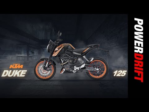 KTM 125 Duke First Look : The affordable orange pocket rocket : PowerDrift