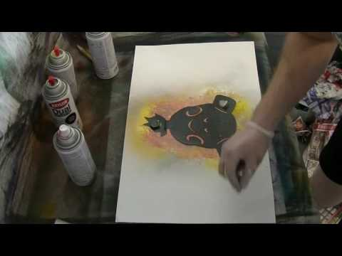 Roadhog Spraypaint Art for Dracorex