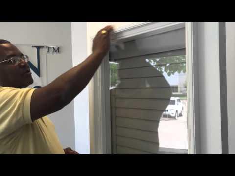 Cellular Shades On Patio Doors