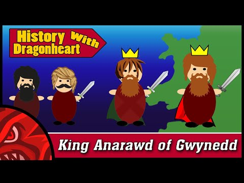 Anaraut of Gwynedd - 3 Minute History (Thrones of Britannia Guide)