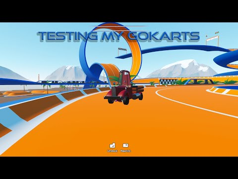 Testing My Gokart's - main assembly game play |