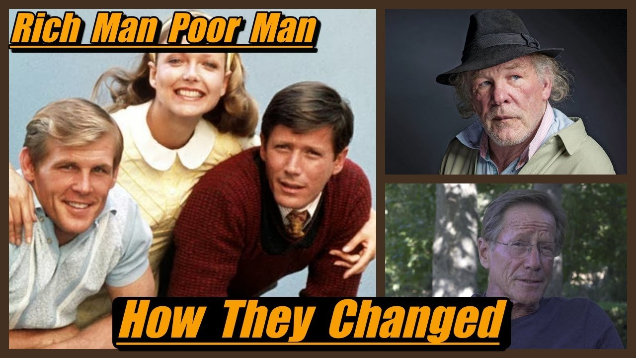 Download Rich Man Poor Man  ( 1976 )  🎞 THEN AND NOW 2020