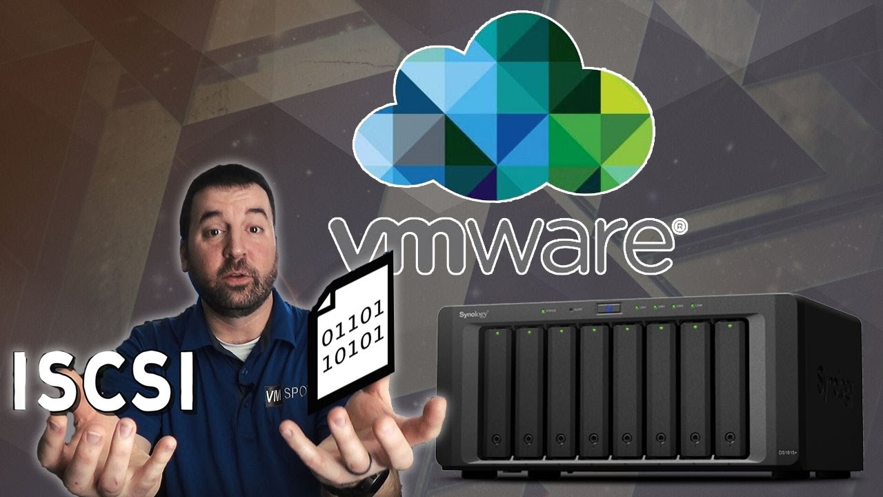 Running VMware VM's on your Synology NAS - YouTube