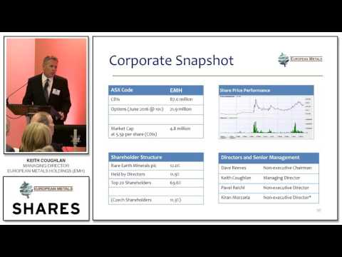 Keith Coughlan, MD of European Metals Holdings (EMH) - SHARE