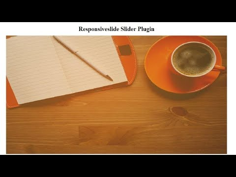 How to use ResponsiveSlides Slider for your website | JQuery ResponsiveSlides Slider Tutorial  2019 thumbnail