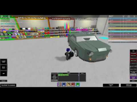 Roblox Build Your Own Mech 34's armored green car - YouTube