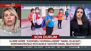 Akdeniz Üniversitesi Rektörü Prof. Dr. Özlenen Özkan Kanal 24'te Konuk Oldu