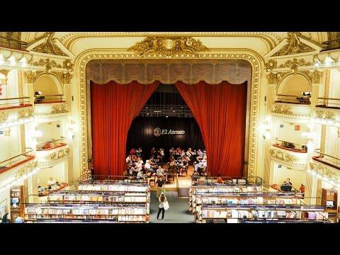 Librería El Ateneo Grand Splendid bookstore in Buenos Aires Argentina