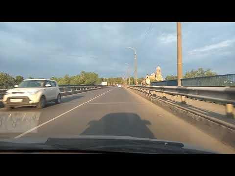 Въезд в город Ковров через Клязьму