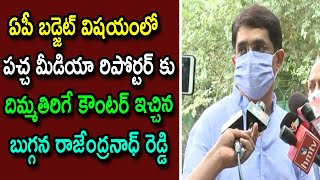 Bugganna Rajendranath Reddy Speech About AP Pending Funds Budget | New Delhi | Cinema Politics