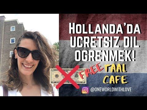 Hollanda'da Ücretsiz Hollandaca (Dutch ) Öğrenmek!