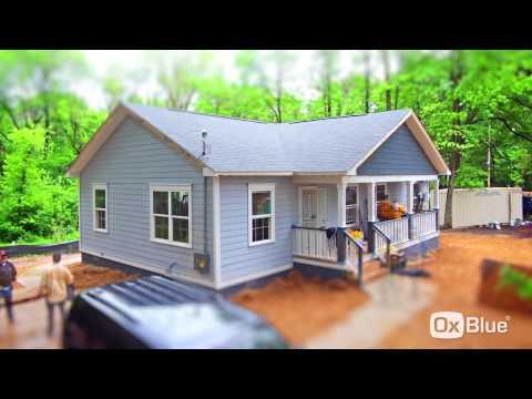 Habitat for Humanity - OxBlue Time-Lapse Video