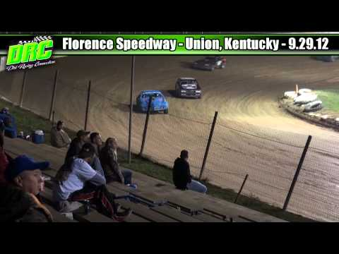 Florence Speedway 9.29.12 Pure Stock Feature