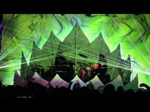 EOTO Lotus spring tour 2013 - Lotus projection mapping/laser compilation