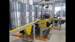 Steel barrel production line, 55 gallon steel drum production line