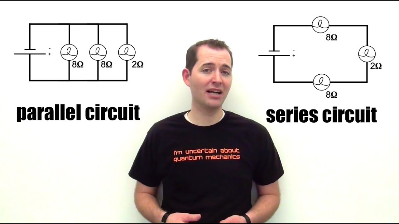 Series Vs Parallel Circuits Youtube And First An Example Of A Circuit