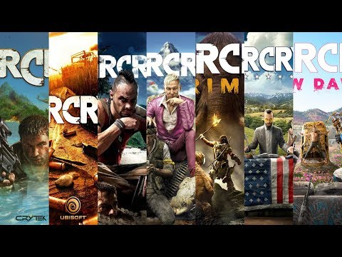 The Evolution Of Far Cry Games