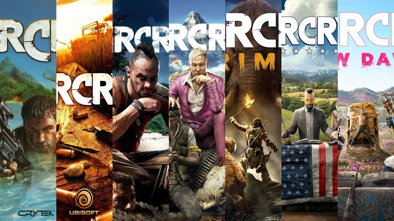 Download The Evolution of Far Cry Games