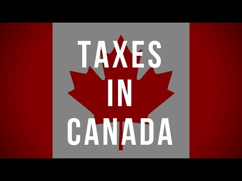 Taxes In Canada. Personal Tax And Business Tax In Canada.
