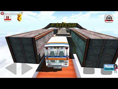 Impossible Ambulance Stunt Simulator / Ambulance Driver / Android Gameplay Video #5