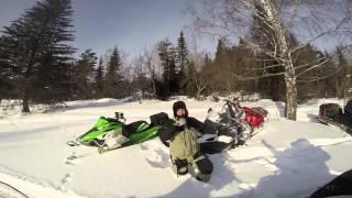 Путешествие на снегоходах. Парк Зюраткуль. январь 2015.