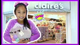 Shopping for Free at Claire