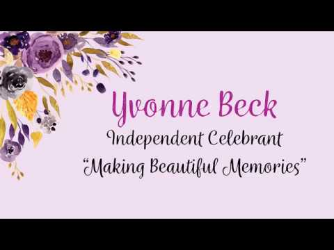 Yvonne Beck Independent Celebrant