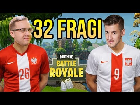 REKORD POLSKI W FORTNITE! 32 FRAGI NA DUO!!