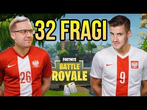 REKORD POLSKI W FORTNITE! 32 FRAGI NA DUO!!