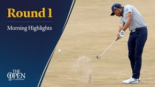 The 147th Open - Thursday morning highlights