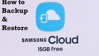 Galaxy Note 7 How to Backup and Restore With Samsung Cloud